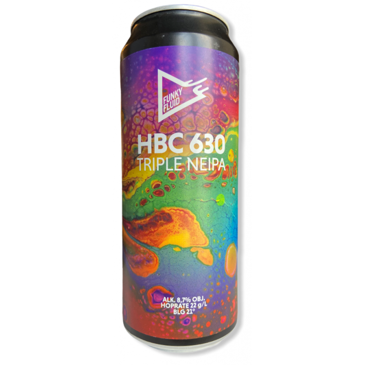 Funky Fluid HBC 630 Triple NEIPA Cans 44cl