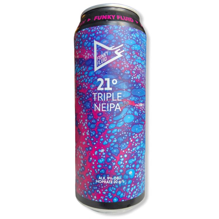 Funky Fluid 21° Triple NEIPA Cans 44cl