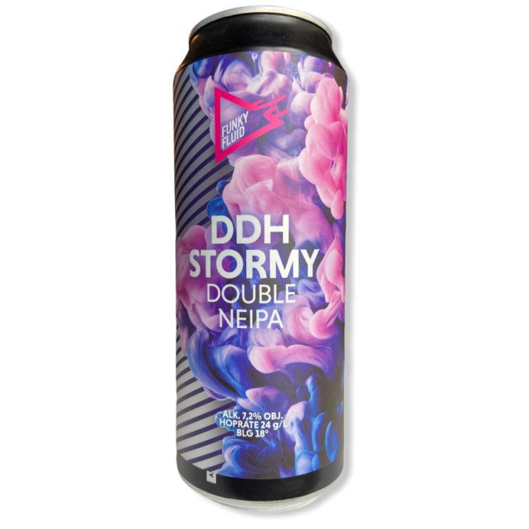 Funky Fluid DDH Stormy 2NEIPA Cans 44cl