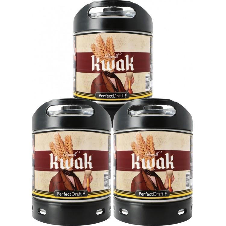 Pack 3 Futs Kwak 6L