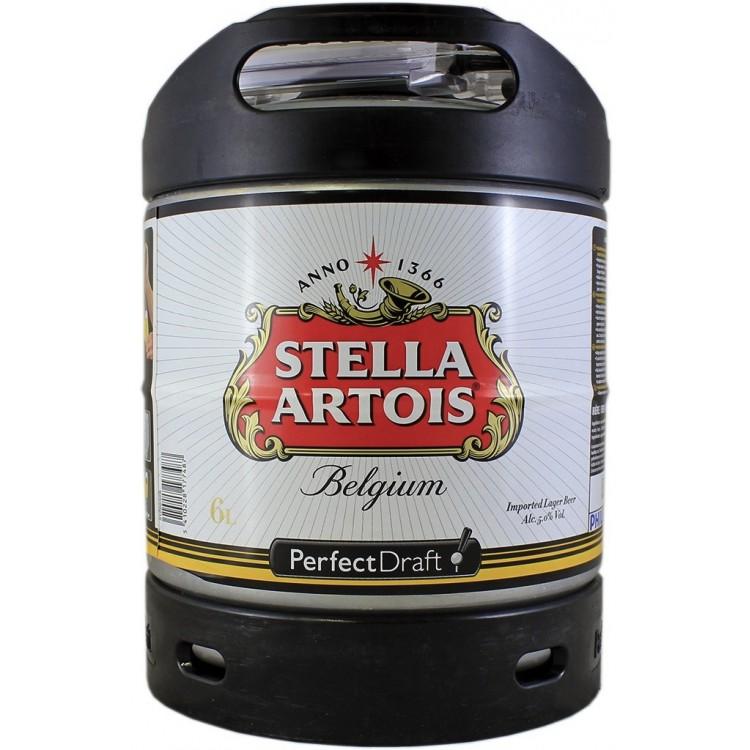 Fut Stella Artois 6L