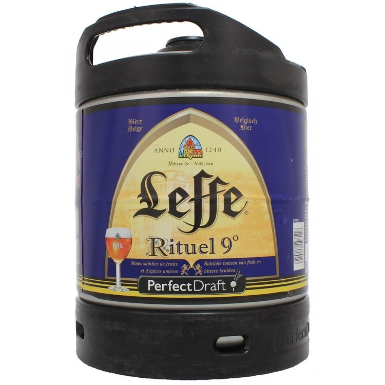Fut Leffe Rituel9° 6Litres